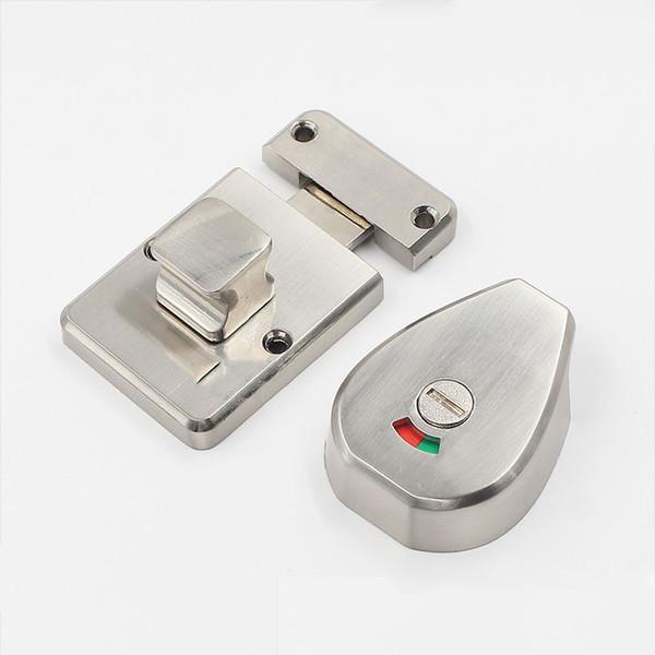 door bolt Indication lock partition door lock Public toilet sanitary partition Latch hardware fitting window Latch