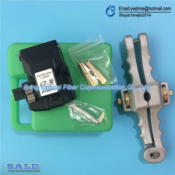 2 шт./лот Fujikura волокна тесак CT-30 CT-30A оптическое волокно режущий нож + SI-01 продольное Открытие нож оболочка кабель Slitter