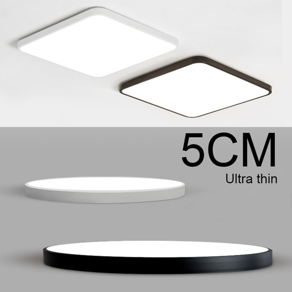 Ultra-thin Art 5cm LED ceiling lighting Circular white ceiling lamp Remote Control Fixture for the living room Kitchen balcony-RNB37