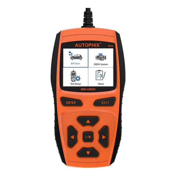 wholesale 7810 OBD2 OBD 2 Automotive Scanner Diagnostic Tools Oil Service Reset SAS EPB Engine Code Reader For BMW Mini