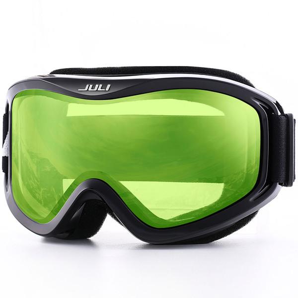 Ski Goggles,Double Lens UV400 Anti-fog Ski Snow Glasses Skiing Men Women Winter Snowboard Goggles,Ski Mask Glasses 2017 NEW