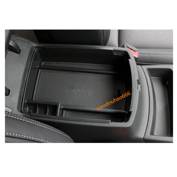 Car styling inner Plastic Storage trim Container Center Console Cup Holder gear box frame armrest For Kia Sportage KX5 2016 2017 2018