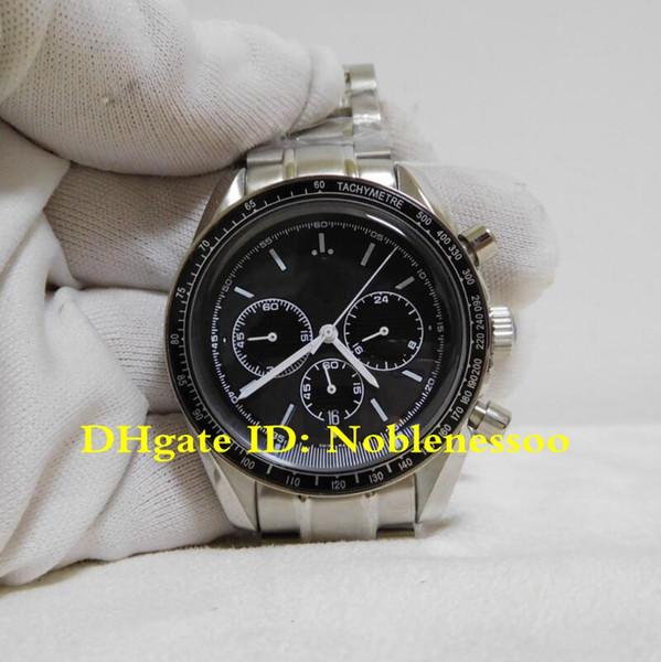 Orologio da polso di alta qualità Cronografo da uomo di lusso racing coassiale 326.30.40.50.01.001 Orologio da polso quadrante nero movimento al quarzo BF328044