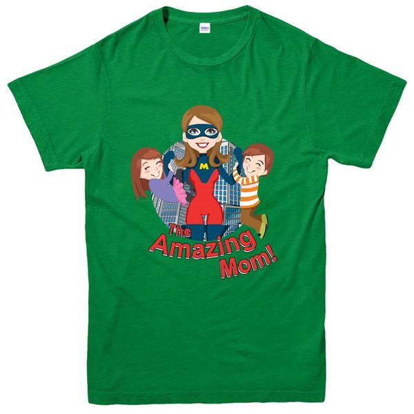 L'incroyable maman T-shirt, Elastigirl Incredibles inspiré Spoof Tee Top Casual drôle livraison gratuite Unisexe tee cadeau