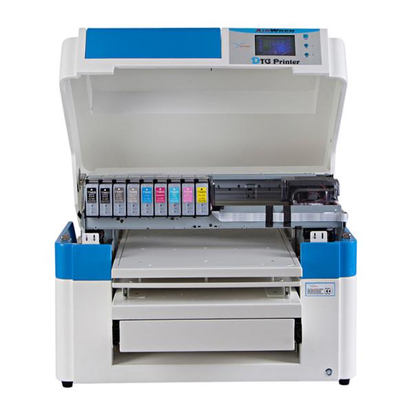 Uso industrial e comercial A2 grande impressora de t-shirt direto para vestuário máquina de impressão de camisa de jato de tinta t