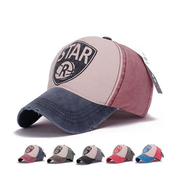 450c5358157 Star Dad Hats For Women Summer Vintage Trucker Baseball Cap Washed Caps Men  Snapback Hip Hop