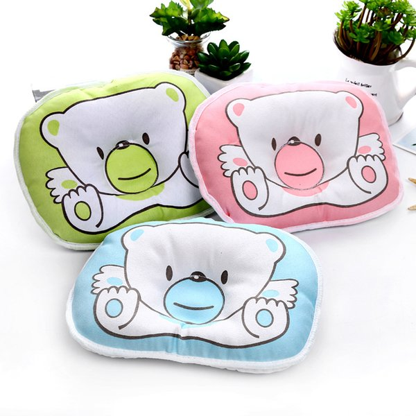 Newborn Bear Pillow Cartoon Candy Baby Shaped Pillow Baby Child Pillows Helped to Develop Force Evenly