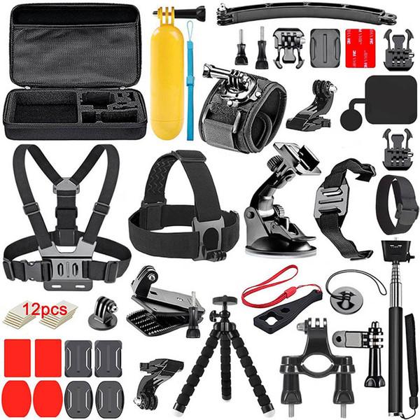K13 действий камеры 14-в-1 аксессуары наборы для Gopros Героев 4 3 4 5 6 Xiaomi yi SJCAM EKEN H9 H9R