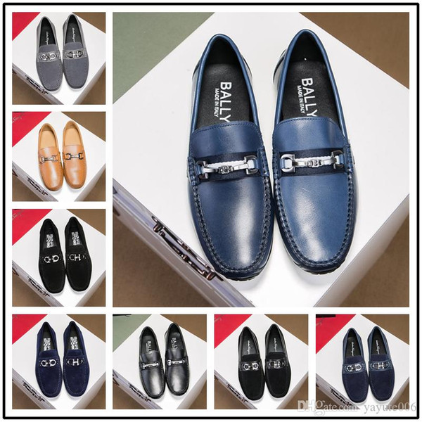 New Luxury Mens Wedding Blue Tuxedo Shoes Patent Genuine Leather Black Fashion Slip On Dress Shoes Boss Elevator Shoes For Men Brand