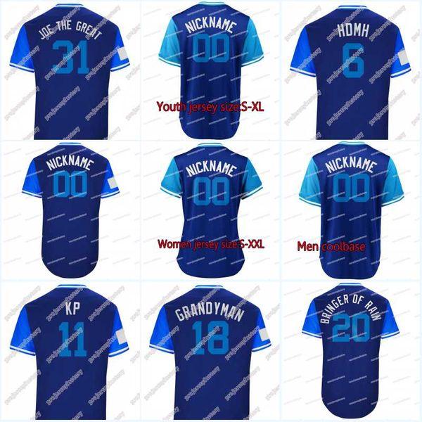uk availability 9c8a1 9f278 2019 2018 Players Weekend 20 Donaldson Bringer Of Rain 11 PILLAR KP 15  GRICHUK GRICH 31 BIAGINI JOE THE GREAT Baseball Jerseys From ...