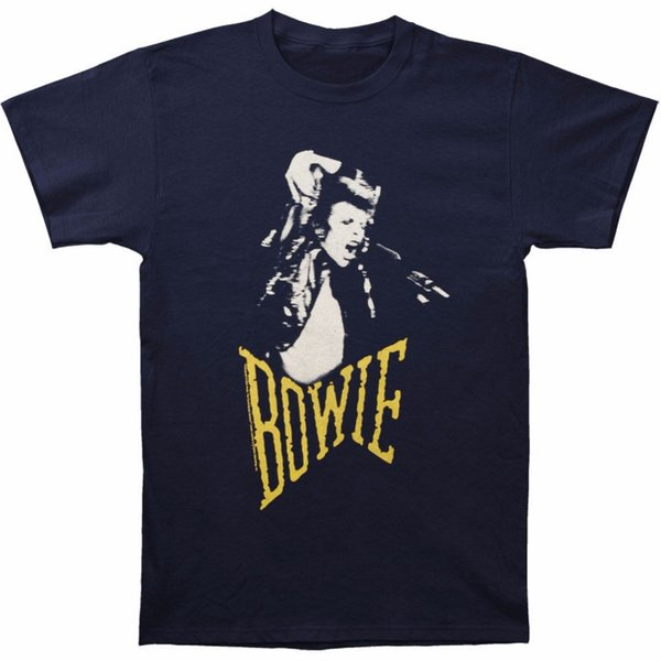 2018 Latest T Shirt Fashion Crew Neck David Bowie Men's Scream T-shirt Size S To 3XL Cotton Short Sleeve Shirts For Men