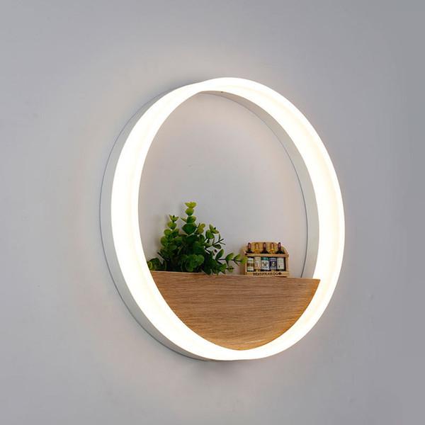 Lampada da parete a LED LED Applique luce moderna acrilica applique da parete decorazione per comodino camera da letto / sala da pranzo / bagno con lampadine