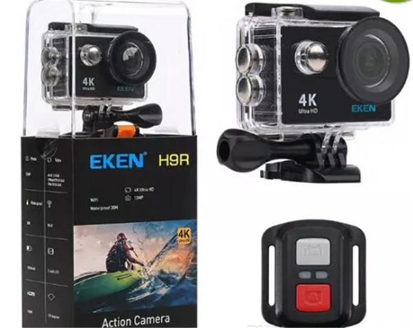 """Original EKEN H9 H9R Action camera Ultra HD 4K 25fps WiFi 2.0"""" 170D underwater Camera waterproof Cam Helmet camera Sport cam"""