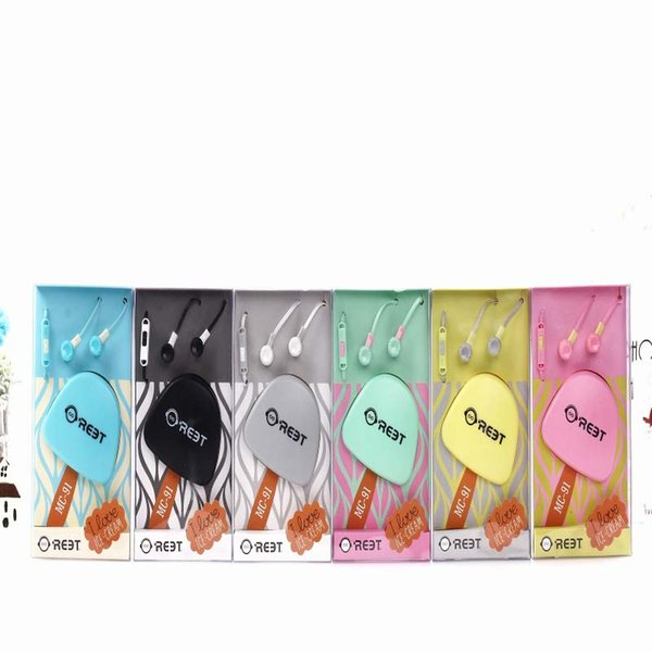 Wired Headphones For All Cell Phone Types Noise Reduction Support Mixed Batch With Microphone Earphones Free Shipping