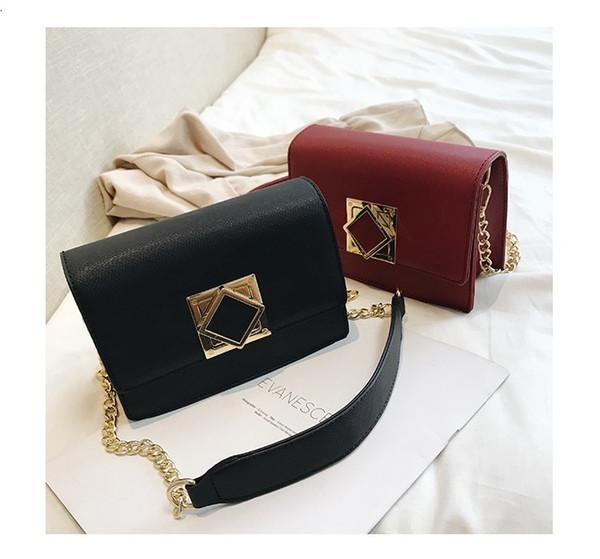 New Casual Crossbody Bags Women Vintage Pure Color Handbag Ladies Design Shoulder Bag Ladies Luxury Hand Bag