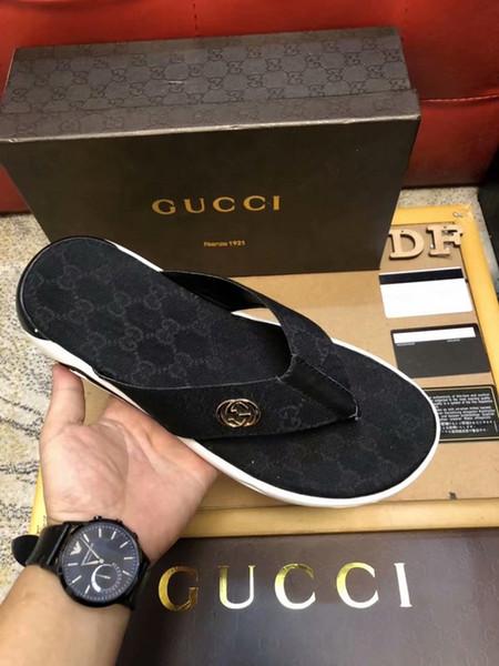 Men Women Sandals Designer Shoes Luxury Slide Summer Fashion Wide Flat Slippery With Thick Sandals Slipper Flip Flop