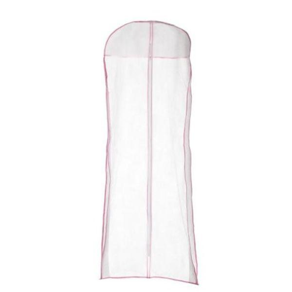Vestido de Noite de casamento Vestido De Noiva Saco De Cobertura De Armazenamento De Vestuário 150 cm Tecido À Prova de Poeira Longo Roupas Protetor Caso