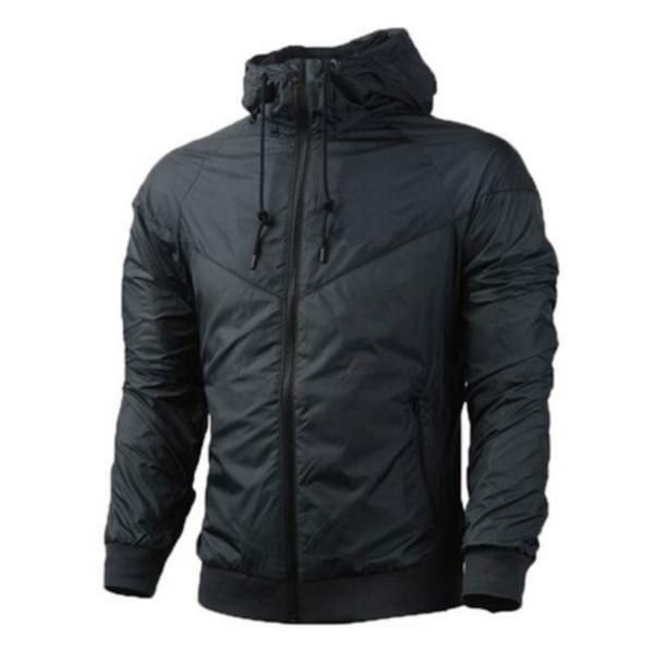 best selling Brand Designer Sweatshirt Hoodie Fashion Men Jacket Long Sleeve Autumn Sports Outdoor Windrunner Zipper Windcheater Coat Plus Size S - 3XL