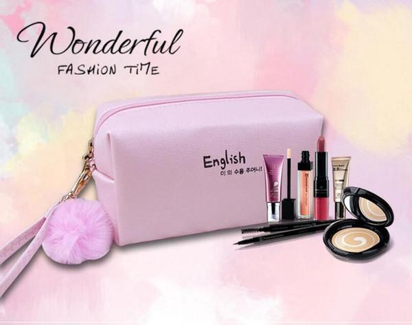 High Quality Fashion Women Makeup bag 7 Colors Cute Mini Waterproof Little Make Up Bag Girl Lady Cosmetic Bag Portable Makeup Organizer