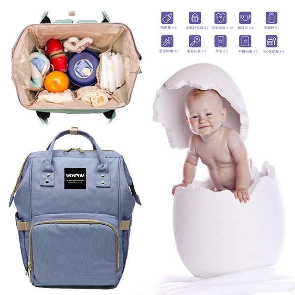 New Multifunctional Baby Diaper Backpack Mommy Changing Bag interface Mummy Backpack Nappy Mother Maternity Backpacks Outdoor Bags