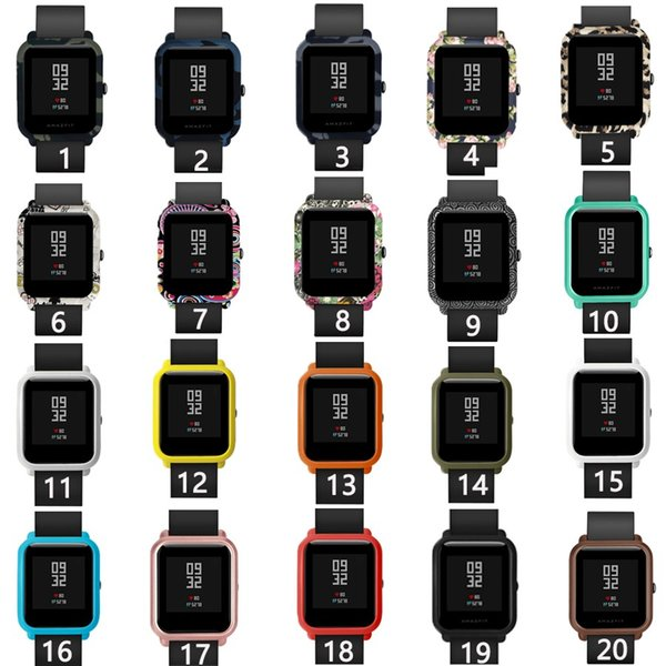 Colorful Watch Case for Xiaomi Huami Amazfit Bip Bit youth Accessories Replaced Protective Cover for amazfit bip bit Smart Watch