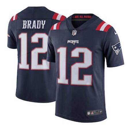 check out a90a4 1d1f9 2019 12 Tom Brady Jersey Rob Gronkowski Julian Edelman James White Navy  Team Color American Football Jerseys Women Men Youth Kids From Dh108,  $18.39 | ...