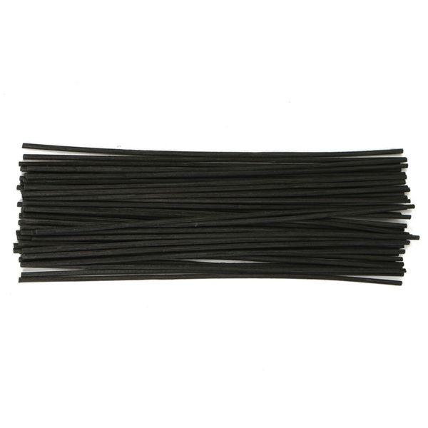 50pcs/lot 22cmx3mm Black Rattan Fragrance Sticks Essential oil Reed Diffuser Sticks Aromatic Bedroom Decorate