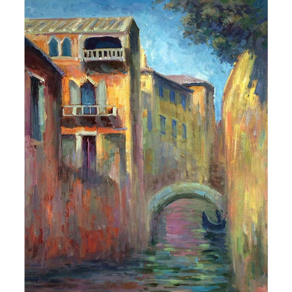 2019 Modern Art Venice Rio Della Salute Claude Monet Oil Paintings Canvas Hand Painted Wall Decor From Kixhome 103 52 Dhgate Com