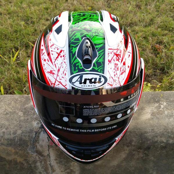 top popular Motorcycle full face helmet winner season all the year round racing cross country safety crash helmet casque moto casco 2021