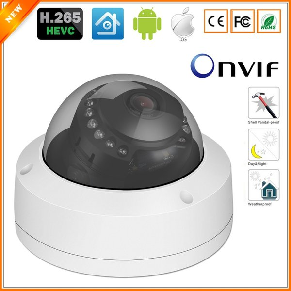 BESDER H.265 5MP 3MP 2MP IP Camera Vandal-proof CCTV Dome Camera XMEye CMS Video Surveillance Motion Sensor PoE RTSP FTP