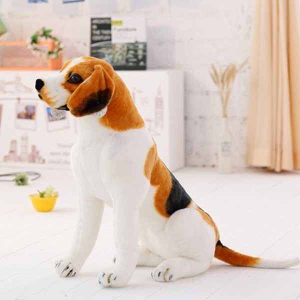 top popular simulation dog plush toy 3D creative doll ornaments 2020