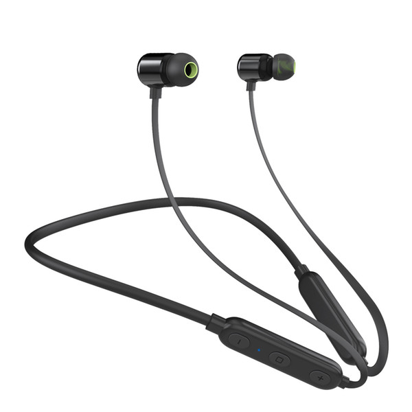 W8 Wireless Stereo Earphones Magnetic Bluetooth Headphone Neckband Bluetooth 4.2 Sport Headset Running with Mic For iPhone Samsung android