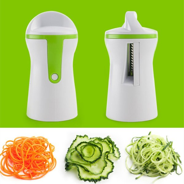 2019 Vegetable Spiralizer New Arrival Handheld Compact Veggie Peeler Cutter  Slicer Kitchen Gadgets Fruit Tools Kitchen Tool T1I291 From Tina310, $3.52  ...