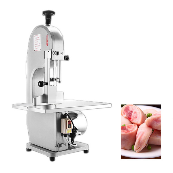 High speed Stainless steel electric meat bone cutting saw machine commercial meat band saw cutter machine