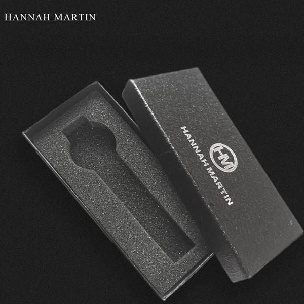 1pcs HANNAH MARTIN Original Case Men Women Watch Black Boyfriend Gift Sport Fashion Casual Brand Wristwatch Boxes Free Shipping
