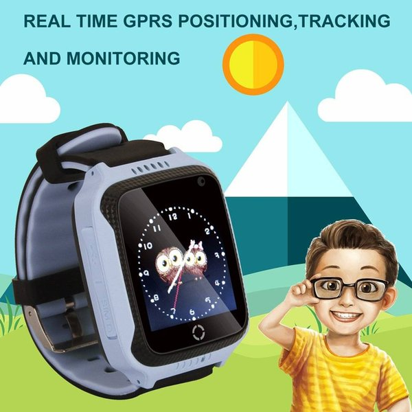 Children Kids Smart Watch GPS Wrist Watch for IOS Android Smart Phone Electronics Multi-function