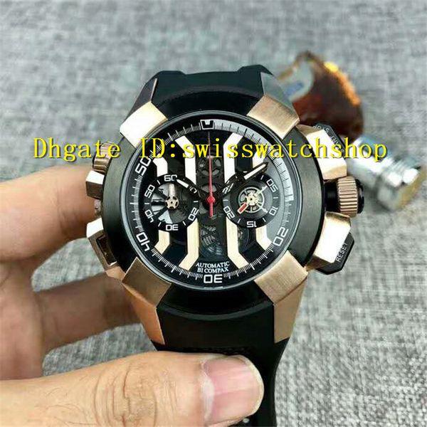 68947fb47 Nuevos relojes para hombre populares Reloj de cronógrafo épico Cronógrafo  de cuarzo Movimiento 316L Caja de