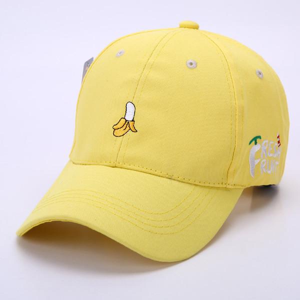 Women Fruit Embroidered Outdoor Golf Hat Adjustable Baseball Cap bone feminino 2017 casquette snapback caps