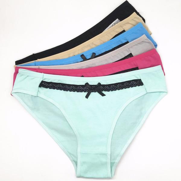Lot de 60 Culottes Femme en Laine Panty Culotte en Coton Femmes Bikini Sous-Vêtements Lady Lingerie Sexy SizeM LXL (