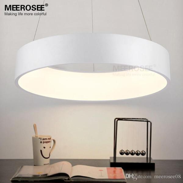 Blanc Lustres Luminaire Ring Lampe Lights Livraison Led Acheter Acrylique Suspension Moderne Stair De475 Suspendu Du Rapide 43 y6b7gf
