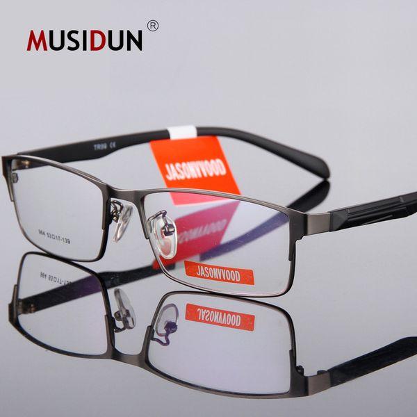 Moda Óculos de Armação Homens Computador Miopia Óptica Óculos de Armação Espetáculo Masculino Transparente Lente Clara Do Vintage Q233