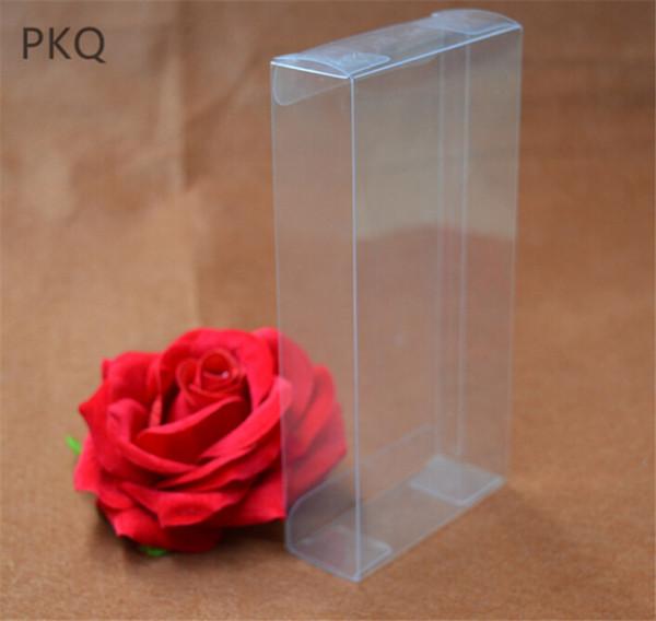 4x7x14cm Large Packaging Souvenir Box Transparent Gift Box for Toys/Crafts Wedding Party Supplies clear plastic pvc 5pcs