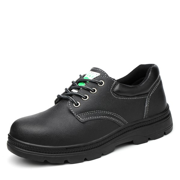 Comfortable Industrial Fashionable Genuine Leather Brand Safety Shoes Construction Safety Shoes Steel Toe Cap