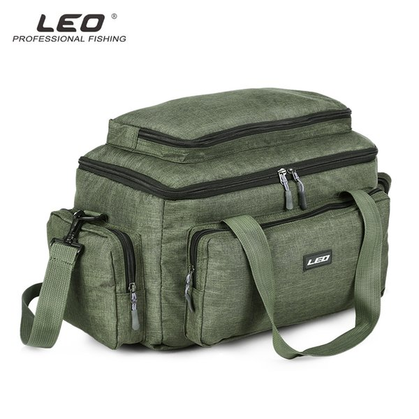 LEO Multifunctional Lure Pack Fishing Tackle Bag for Outdoor Activities