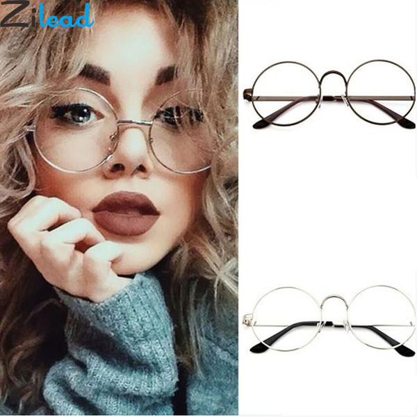 de6fa88285 Zilead Gafas Redondas Hombres Gafas de Sol para Mujer Gafas de Montura  Metálica vintage Ópticas Femeninas