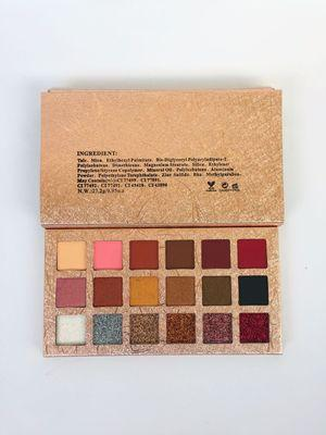 15 color glitter eyeshadow palette