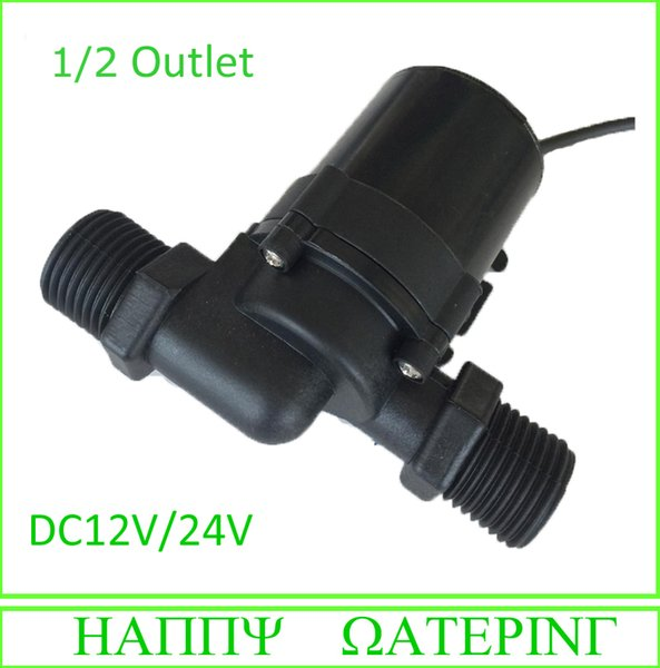 600D Type 24V DC Micro Water Pump 600L/H Flow Max Can be Used Submbersible and Land Type