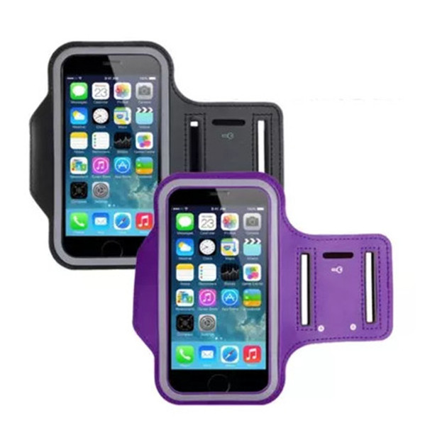 New for iPhone 6S/7/8 Plus X WaterProof Sport Gym Running Armband Case Cover Bag Pouch for Cellphone Samsung Galaxy S8 S9 Case Cover