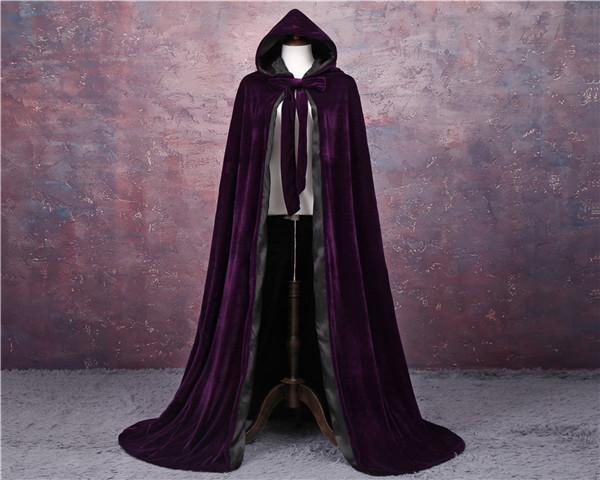 Фиолетовая + черная подкладка