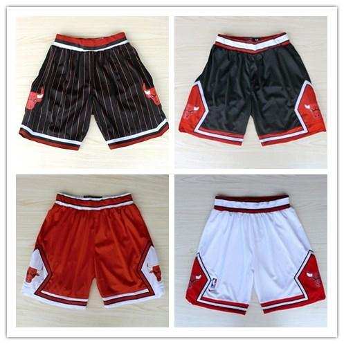 best selling 2018 HOT SALE New Season Authentic CHI Running Basketball Jersey Shorts Chicago state Men and youth Bulls Short Jerseys